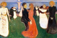 Как театр оживил картину «Танец жизни»